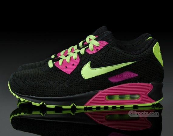 new arrival e75b7 1b12b ... coupon code nike air max 90 premium black neon green pink 28b74 c2f6f