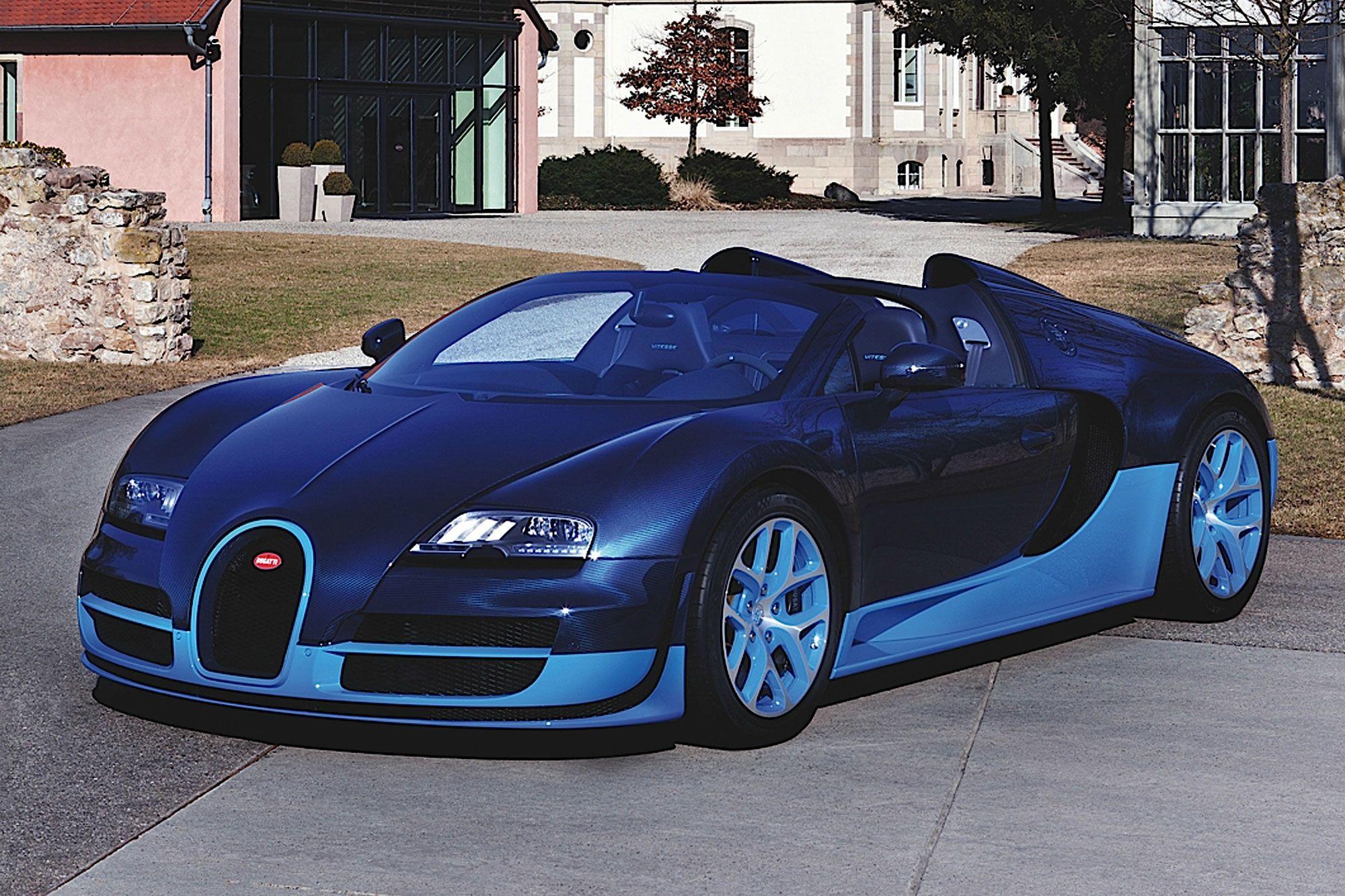 2012 Bugatti Veyron Grand Sport