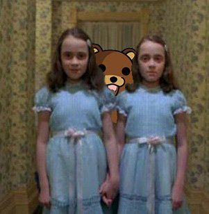 This scene is creepy enough as it is without the bear. :|