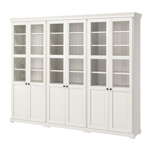 Dining Room Storage Ideas To Keep Your Scheme Clutter Free: LIATORP Storage Combination With Doors White In