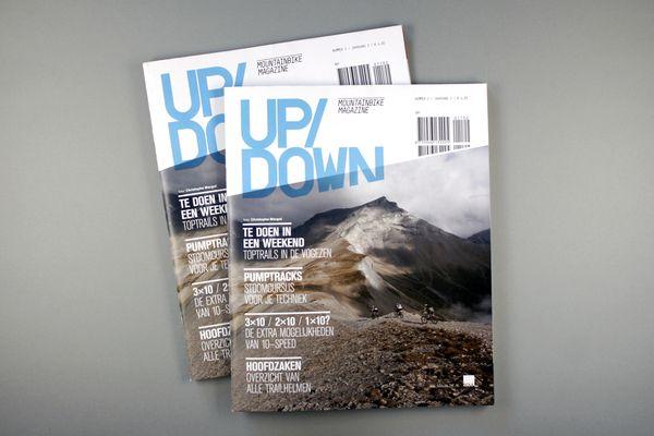 Up/Down Mountainbike Magazine / #2 2011 by OK200 , via Behance