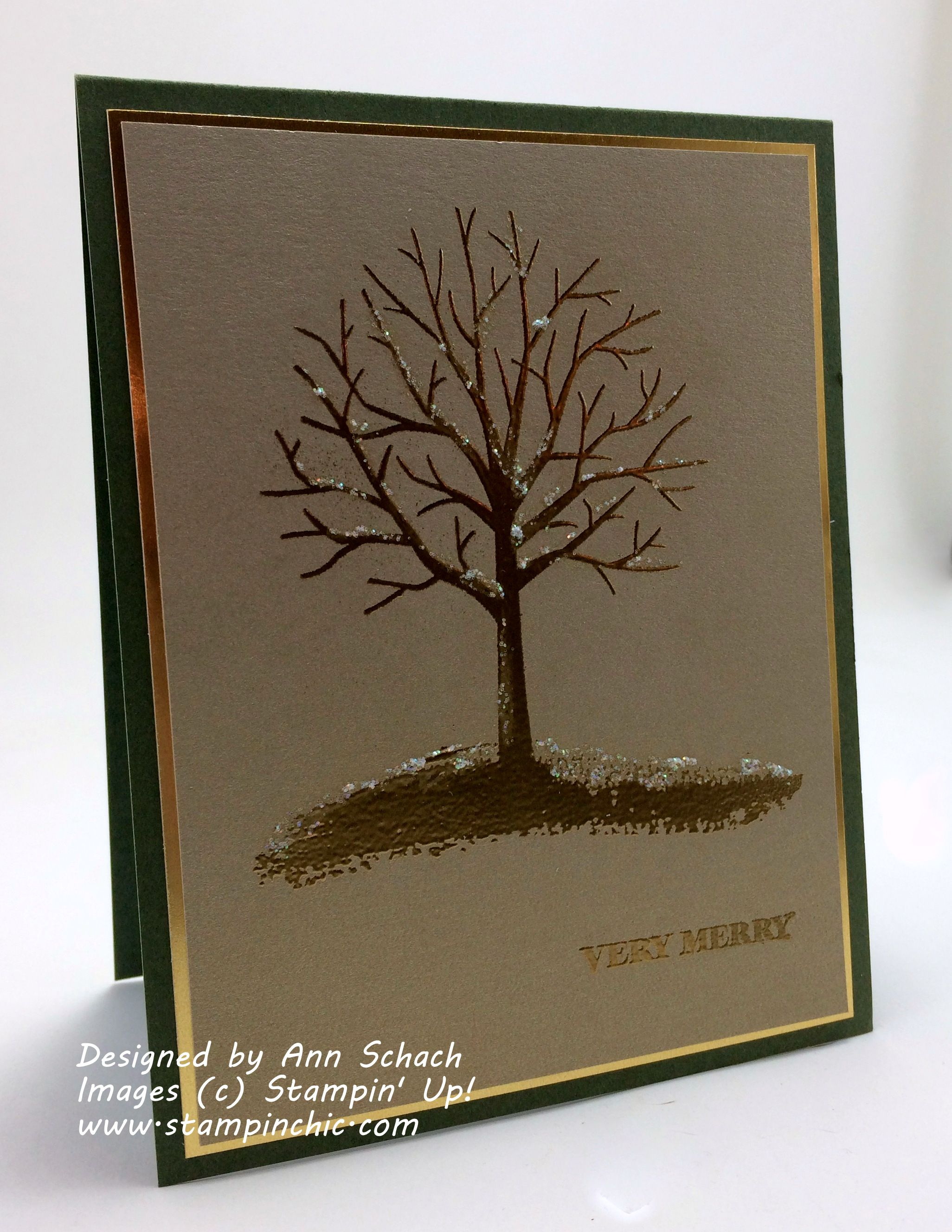 The Stampin Schach Stamp Review Crew Sheltering Tree Edition