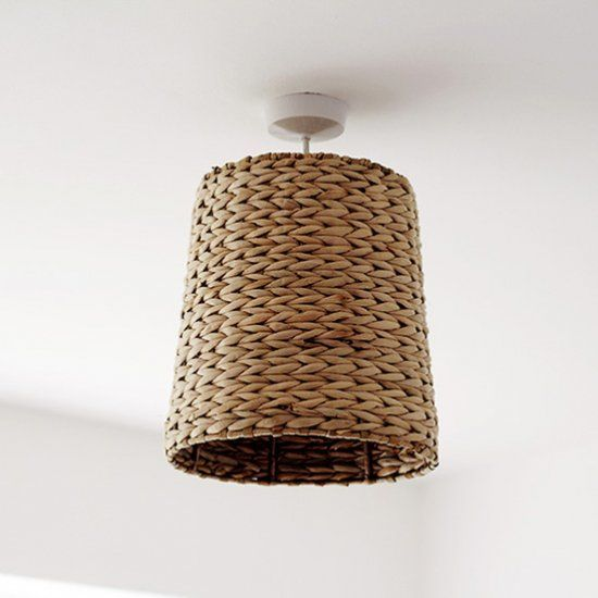 Turn an old waste paper basket into a beautiful feature lampshade. It's much easier than you think!