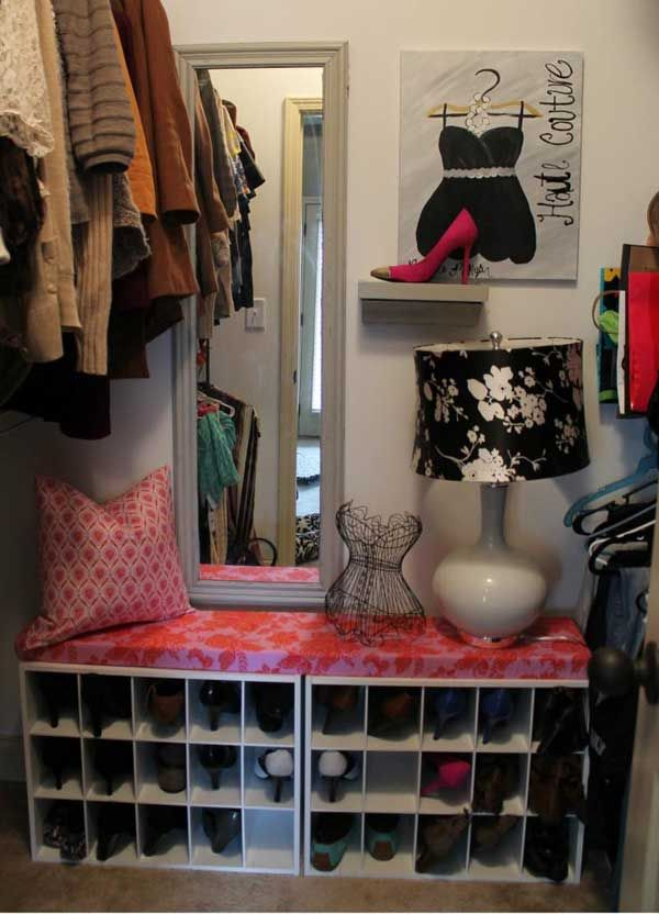 28 Clever DIY Shoes Storage Ideas That