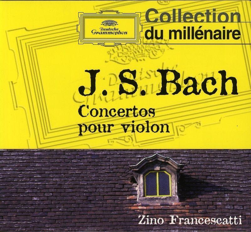Adam & Eve Francescatti/Pasquier/Baumgartner/Festival String De Lucerne - Bach J.S: Violin Concertos [Import]