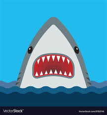Vector Shark Teeth Google Search Shark Coloring Pages Shark Mouth Open Shark