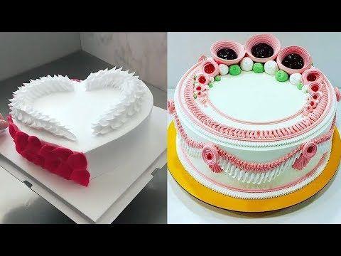 حيل تزيين الكيك بالبيت تزيين بالكريمة و تزيين بالشوكولا اجمل النمادج Youtube Cake Decorating Videos Cake Decorating Cake