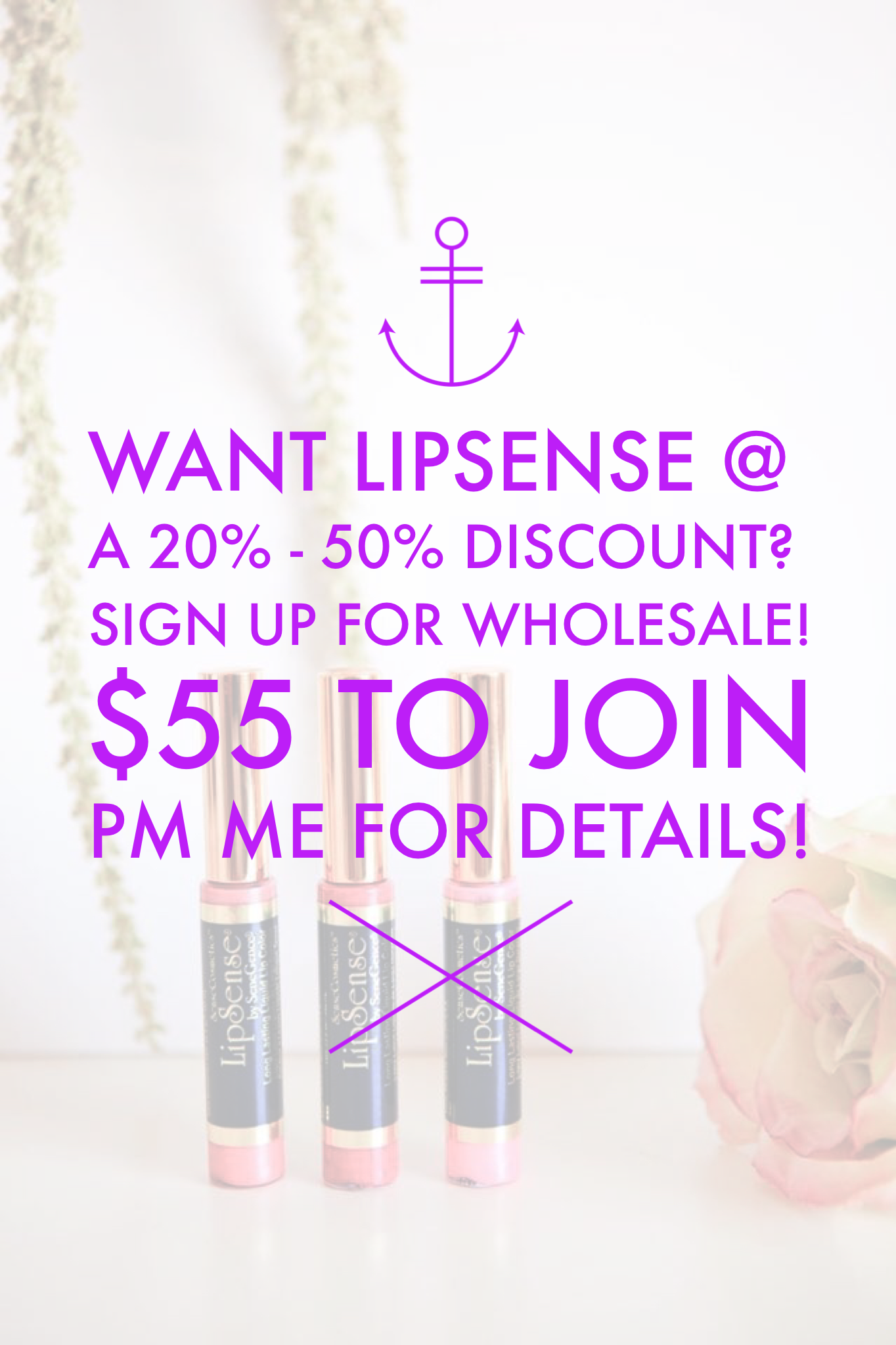 Get a Wholesale Discount to buy all the LipSense and
