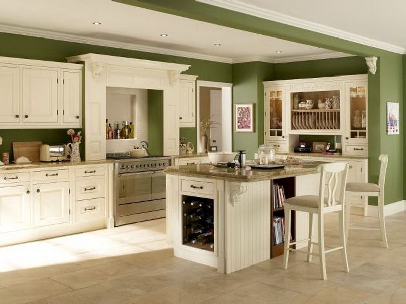 kitchen colors green | winda 7 furniture