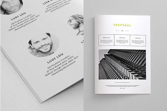 indesign business proposal template by thirtypath on