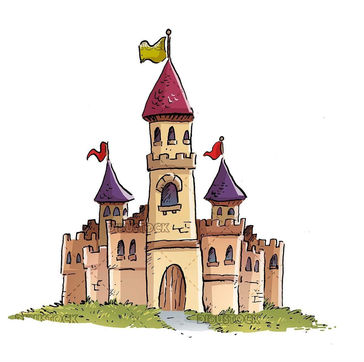 Get Cartoon Castle Images  PNG