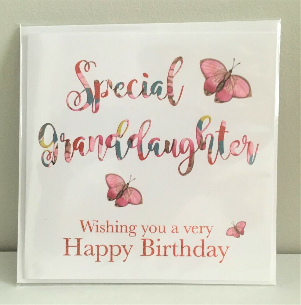 Granddaughter You make my heart smile, Happy Birthday Card