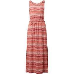 Tom Tailor Damen Kleid mit Zickzack-Muster, rot, gemustert, Gr.36 Tom TailorTom Tailor