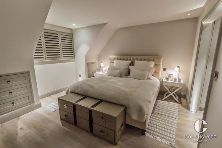 Collingwood Lighting Bedroom Lighting Home Design Inspiration This Look Was Created Using The Collingwood H2 Pro 550 H House Bedroom Lighting Wood Bridge