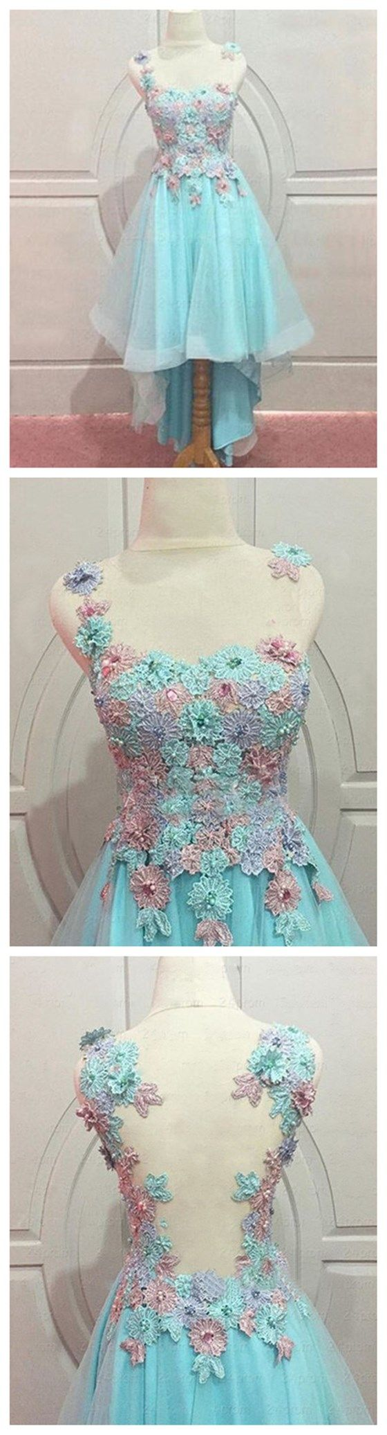 Lace prom dress blue prom dress j homecoming dress pinterest