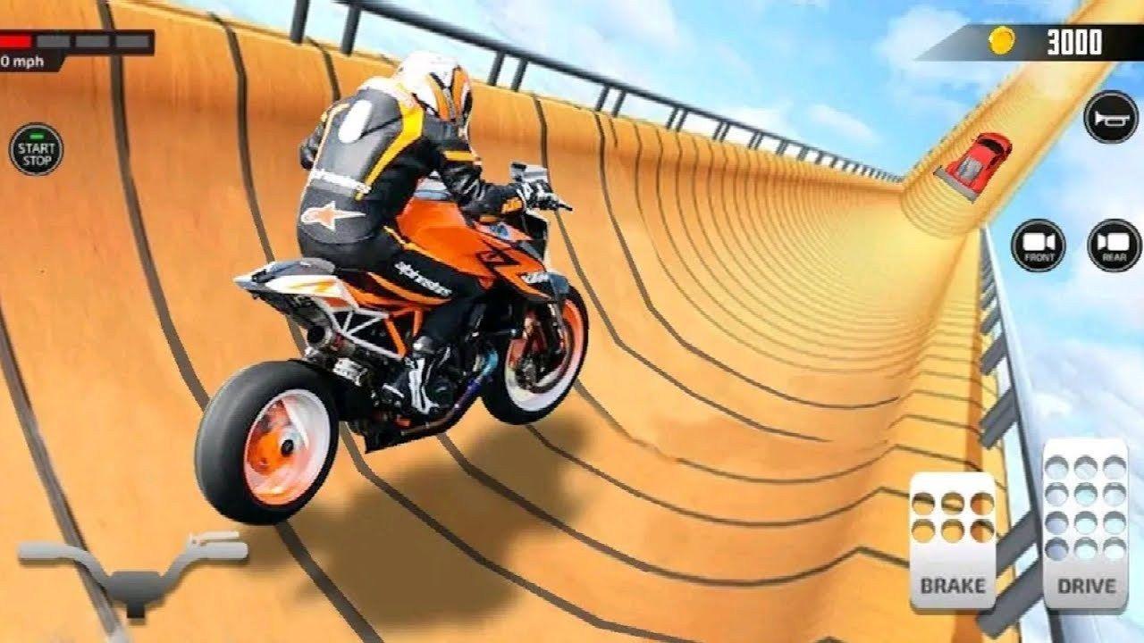 Super Hero Bike Vs Car Racing Game Motor Cycle Race Game Bike Games 3d For Android Racing Games Stunt Bike Race Cars Racing Games