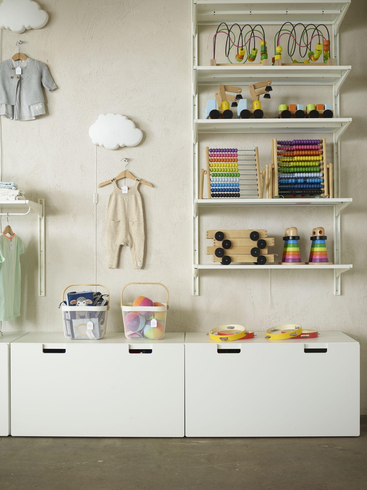 IKEA Deutschland   Auch im Kinderzimmer hat alles seine Ordnung ...