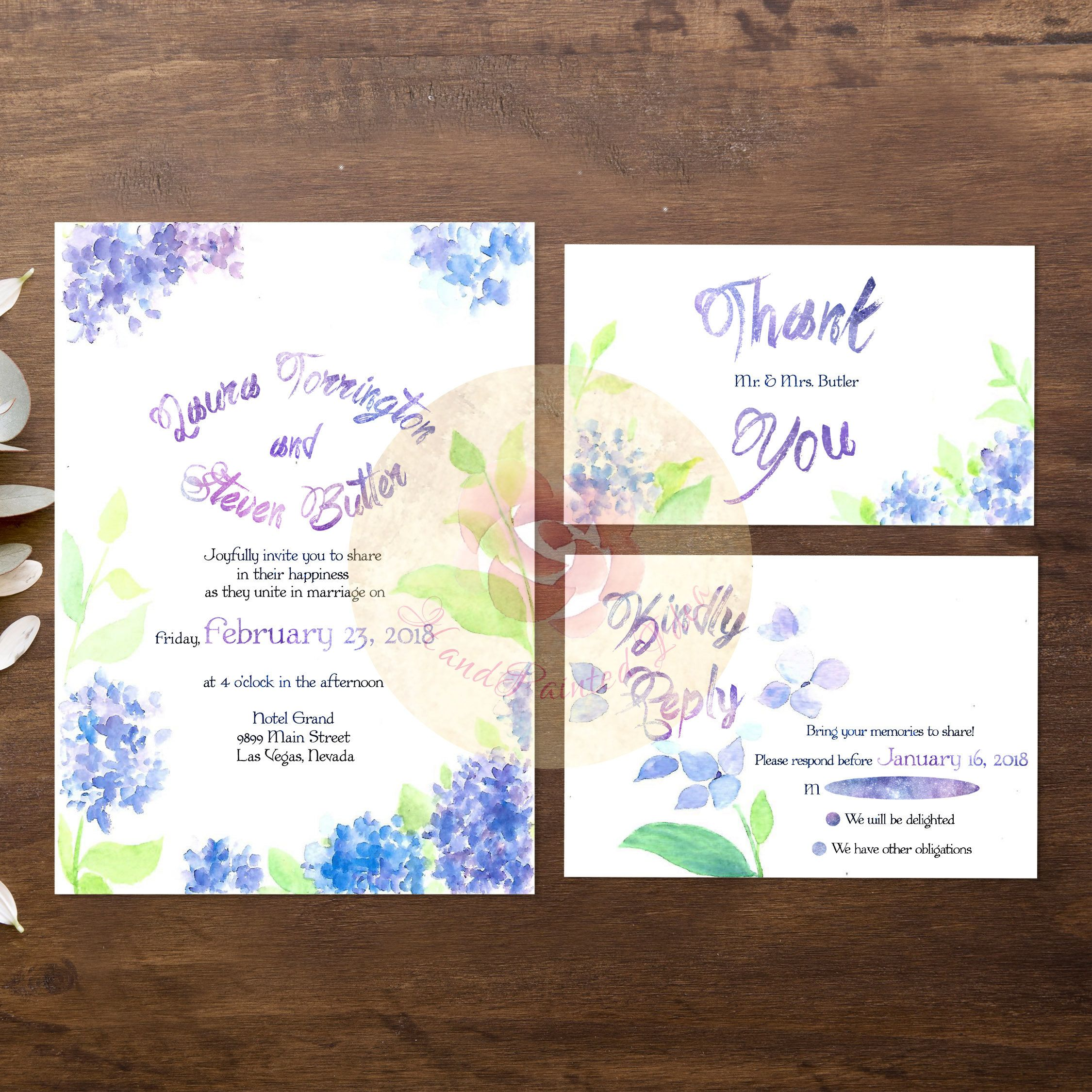8 Best Wedding Invitation Printable Images On Pinterest Free