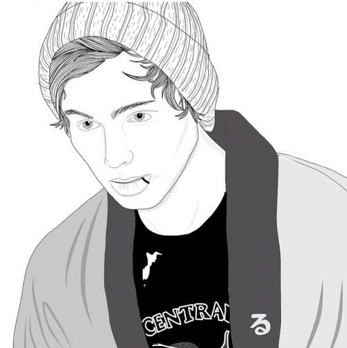 5sos drawing outline