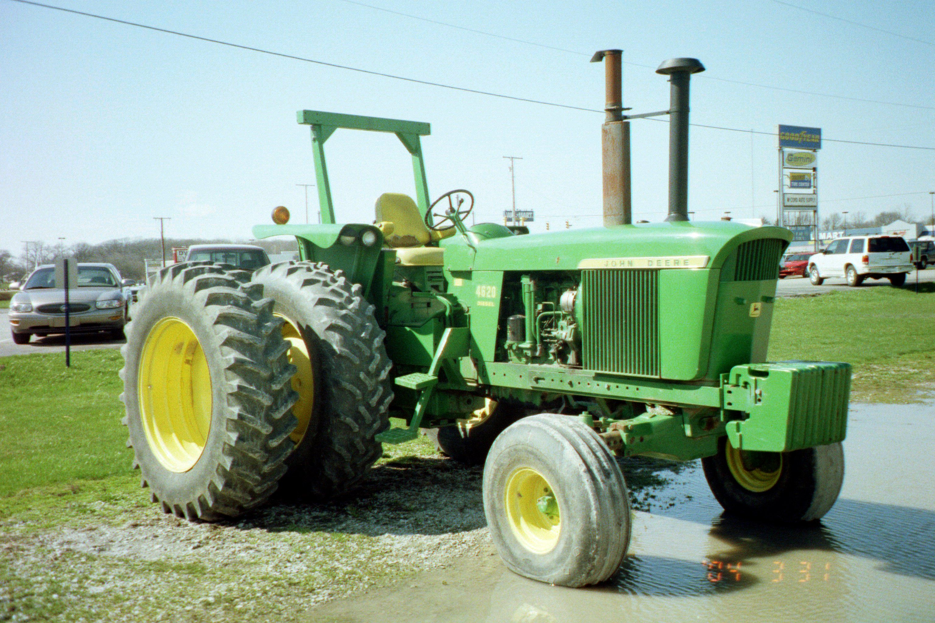 When the John Deere 4620 got introduced in 1970 the sales of the 141hp 5020  dropped