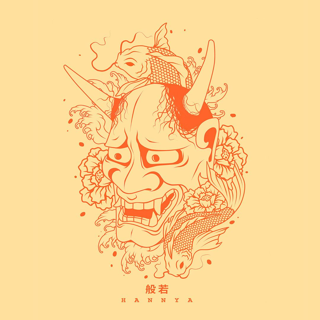 Japanese Hannya Tattoo Tumblr Japanese Tattoo Art Japanese Mask Tattoo Japanese Tattoo Designs