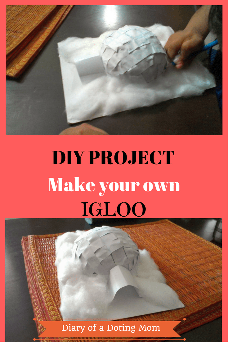 Make your own igloo at home: A DIY project for school | Coconut ...