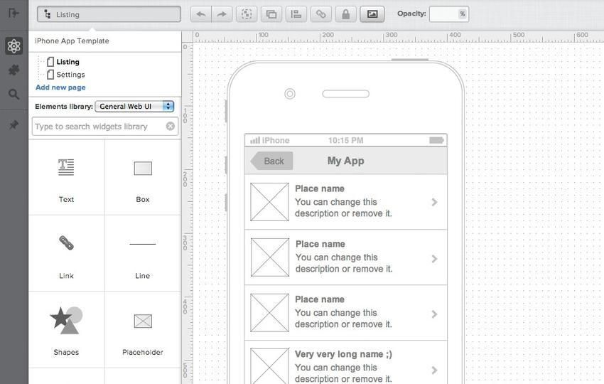 20 Excellent Wireframing Tools For Mobile Web Design Software Prototyping Tools Mobile