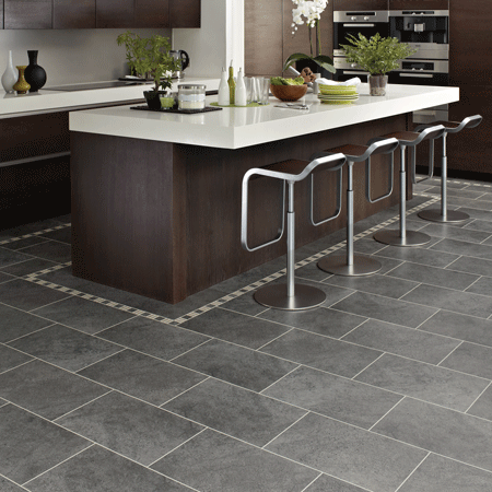 St14 Cumbrian Stone Grey Kitchen Floor Kitchen Flooring Modern Kitchen Flooring