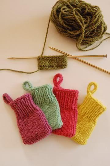 free advent calendar knitting pattern photo tutorial