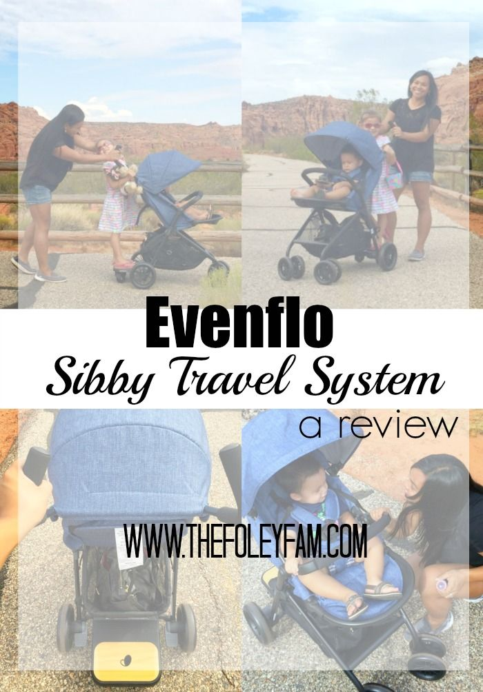 Evenflo Sibby Travel System ft. the RideAlong Board