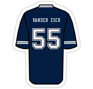 the best attitude 8da85 f2137 Leighton Vander Esch Jersey | Sticker in 2019 | •decals ...