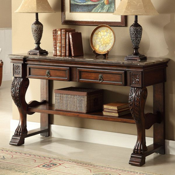Pleasing Dodson Brown Console In 2019 Accent Cabinets Console Onthecornerstone Fun Painted Chair Ideas Images Onthecornerstoneorg