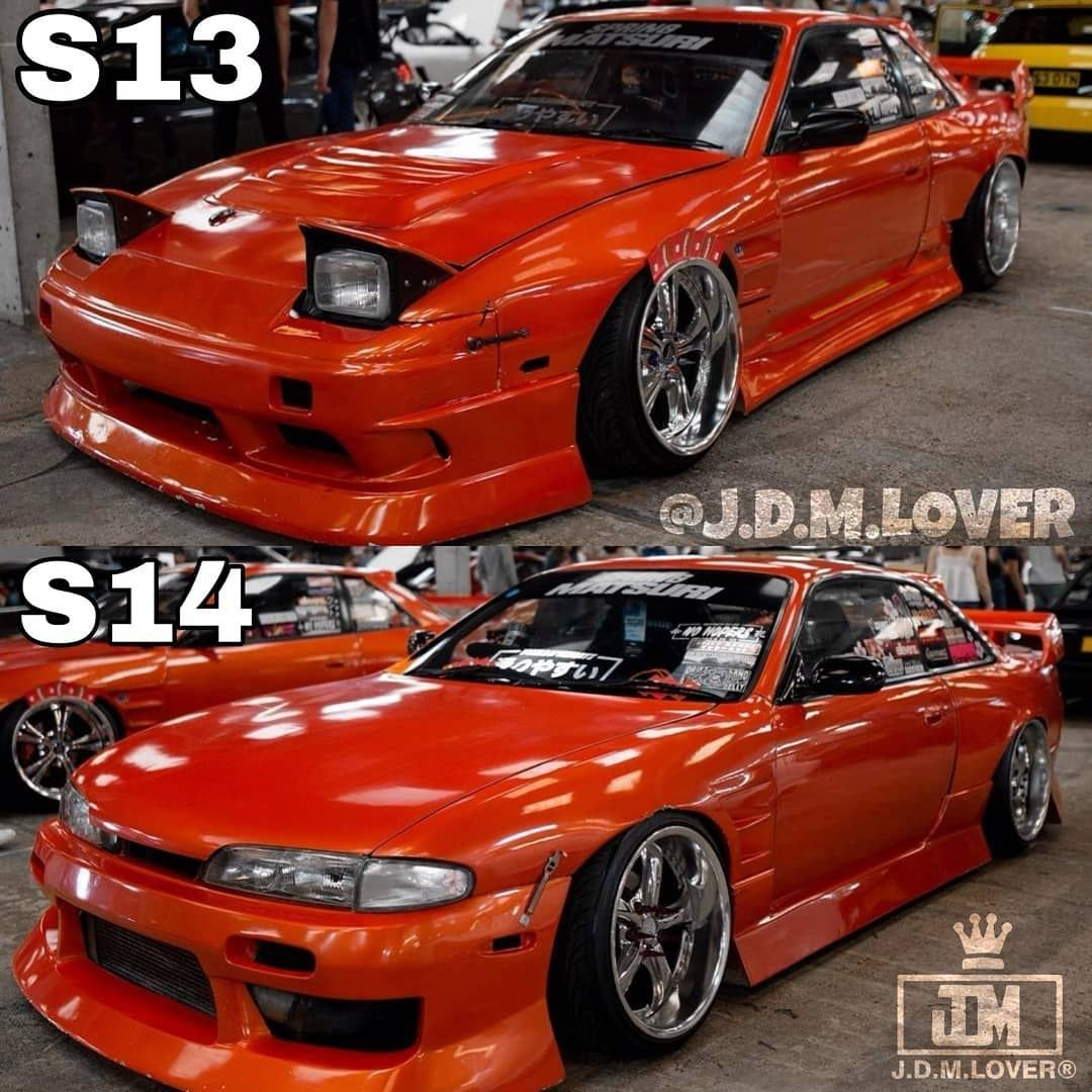 Nissan Silvia S13 S14 S15 On Instagram S13 Or S14 Follow Us Silviataste Via J D M Lover Stance Drift Dri Nissan Silvia Nissan Best Jdm Cars