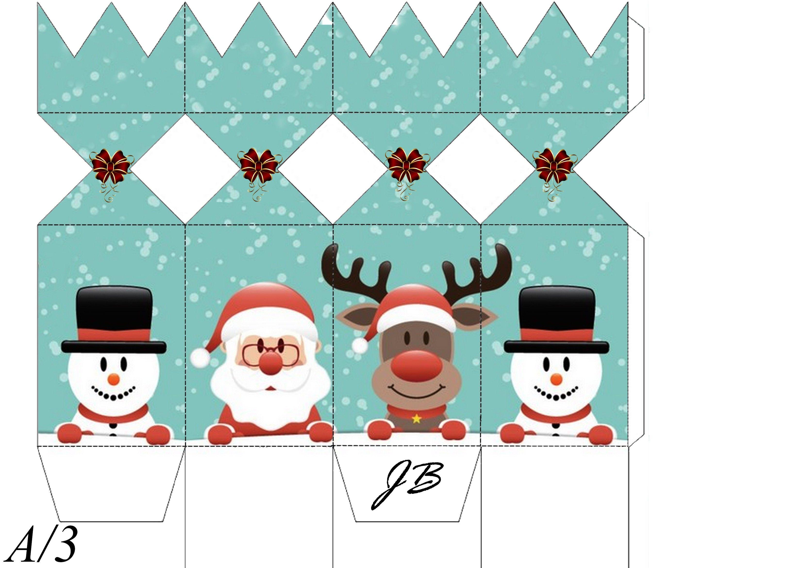 Christmas Boxes, Kids Christmas, Christmas 2017, Christmas Crafts, Free Christmas