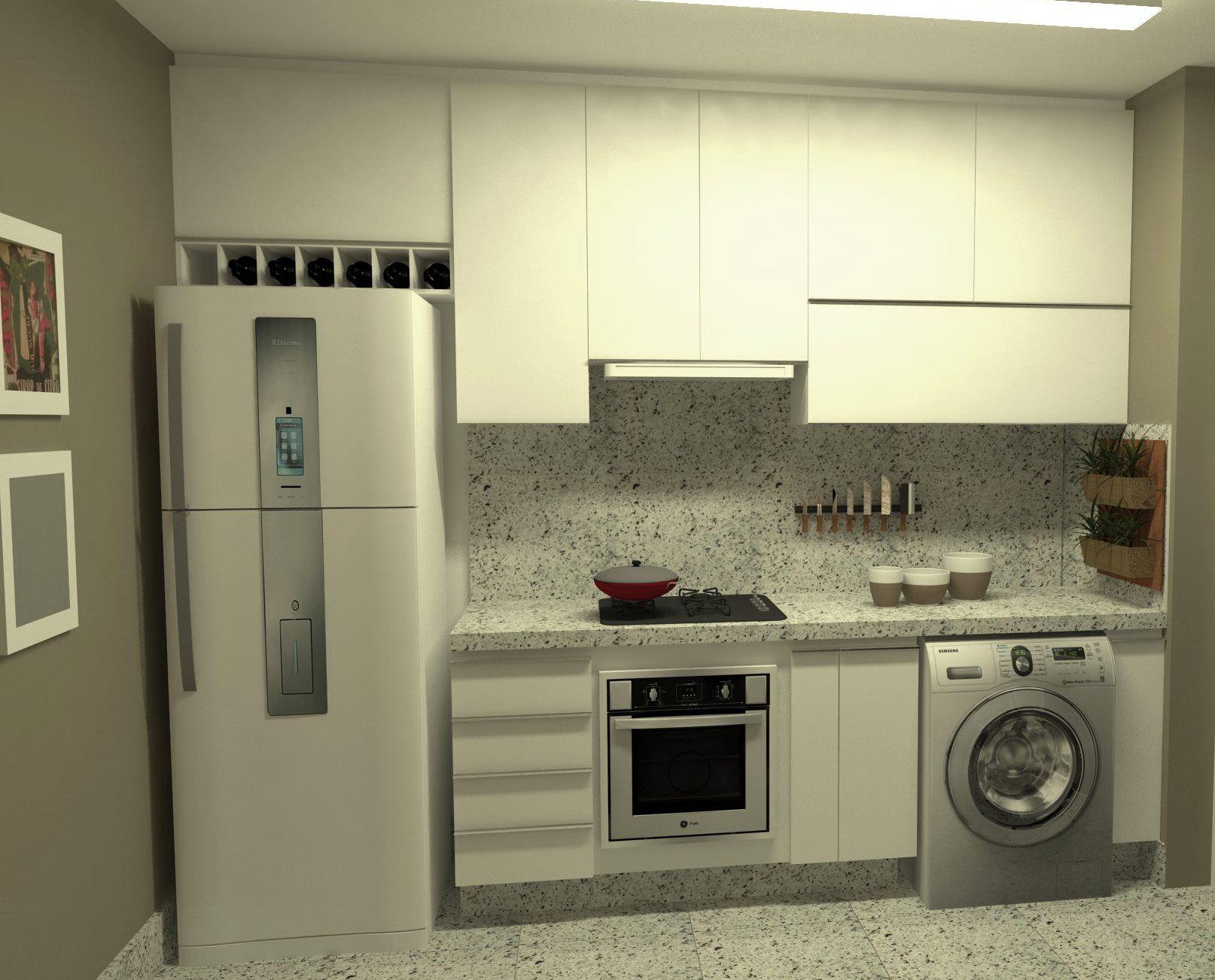 Cozinha Planejada Americana Compact 35 Decora