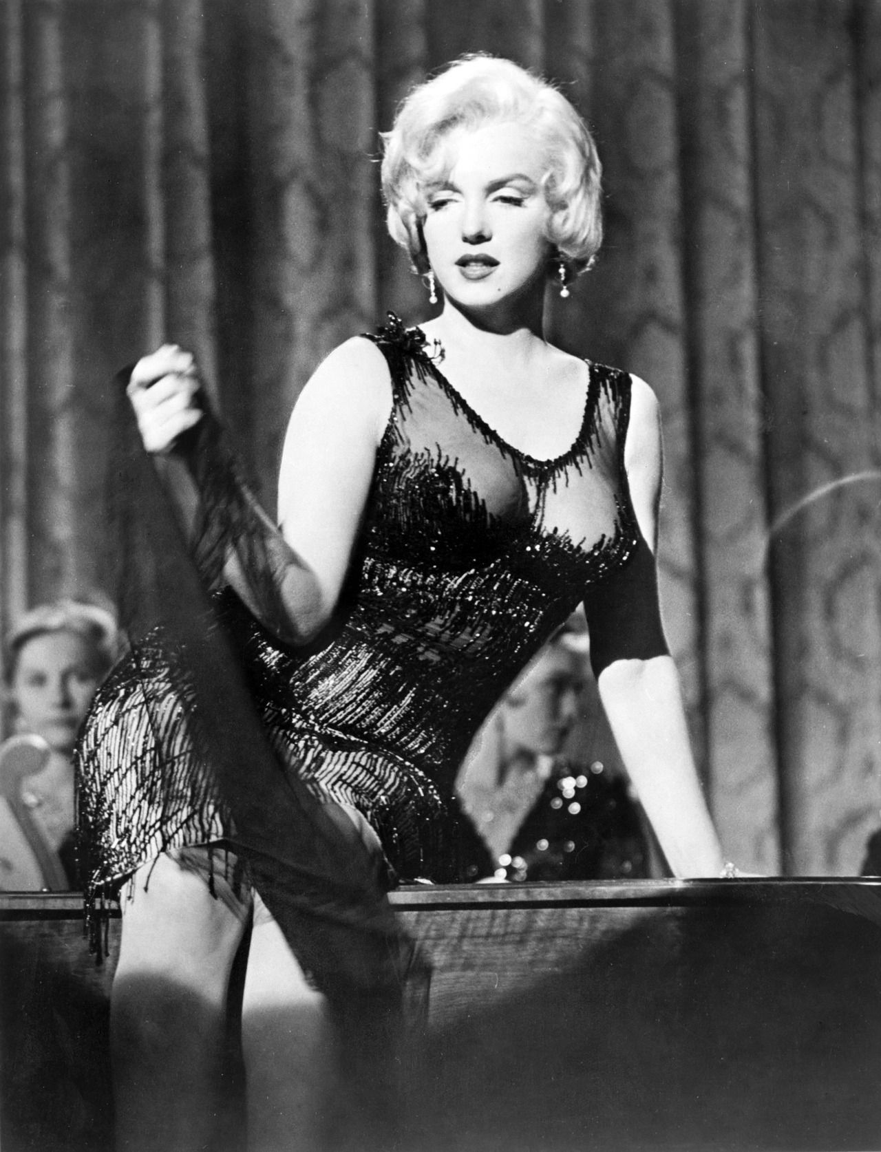 """Marilyn Monroe required 47 takes for the line """"It's me, Sugar"""" in Some Like It Hot (1959)"""