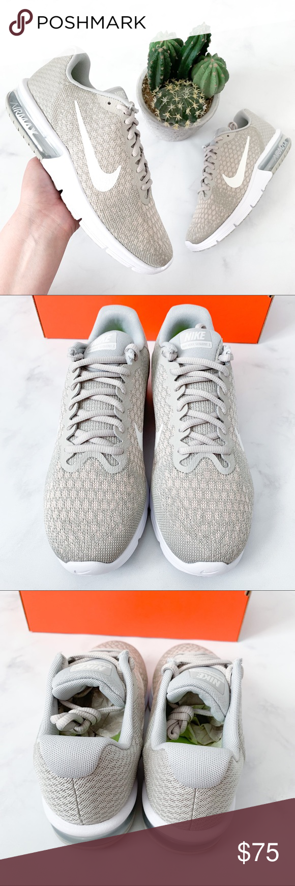 7dfc293c5ba Woman s Nike Air Max Sequent 2 Sneakers Brand new in original box! 100%  Authentic with new shoe smell! 👃 (0032) PRODUCT DETAILS  •Size  7.5 (1)