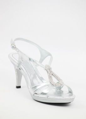 dc1c7142bb8 Wedding Shoes Silver with 3