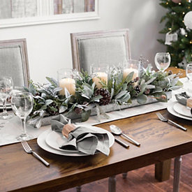 Christmas Centerpiece And Floral Decor Kirklands Christmas Table Centerpieces Christmas Table Settings Christmas Centerpieces