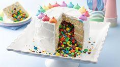Photo of Regenbogen-Überraschung innerhalb des Kuchens – Apfel Kuchen –  Regenbogen-Übe…