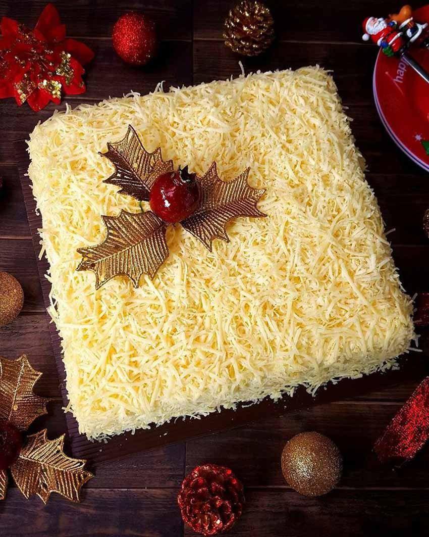 Homebake Snow Cheese Sponge Cake Cake Keju Cakenya Lembut Dan Kejunya Itu Kuat Banget Bikin Nagih Kue Mentega Resep Kue Keju Keju