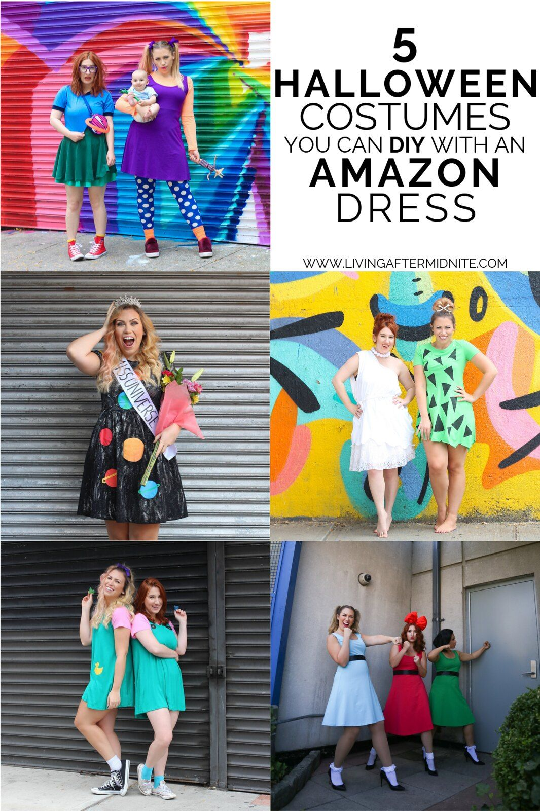 5 Costumes You Can DIY with an Amazon Dress Amazon