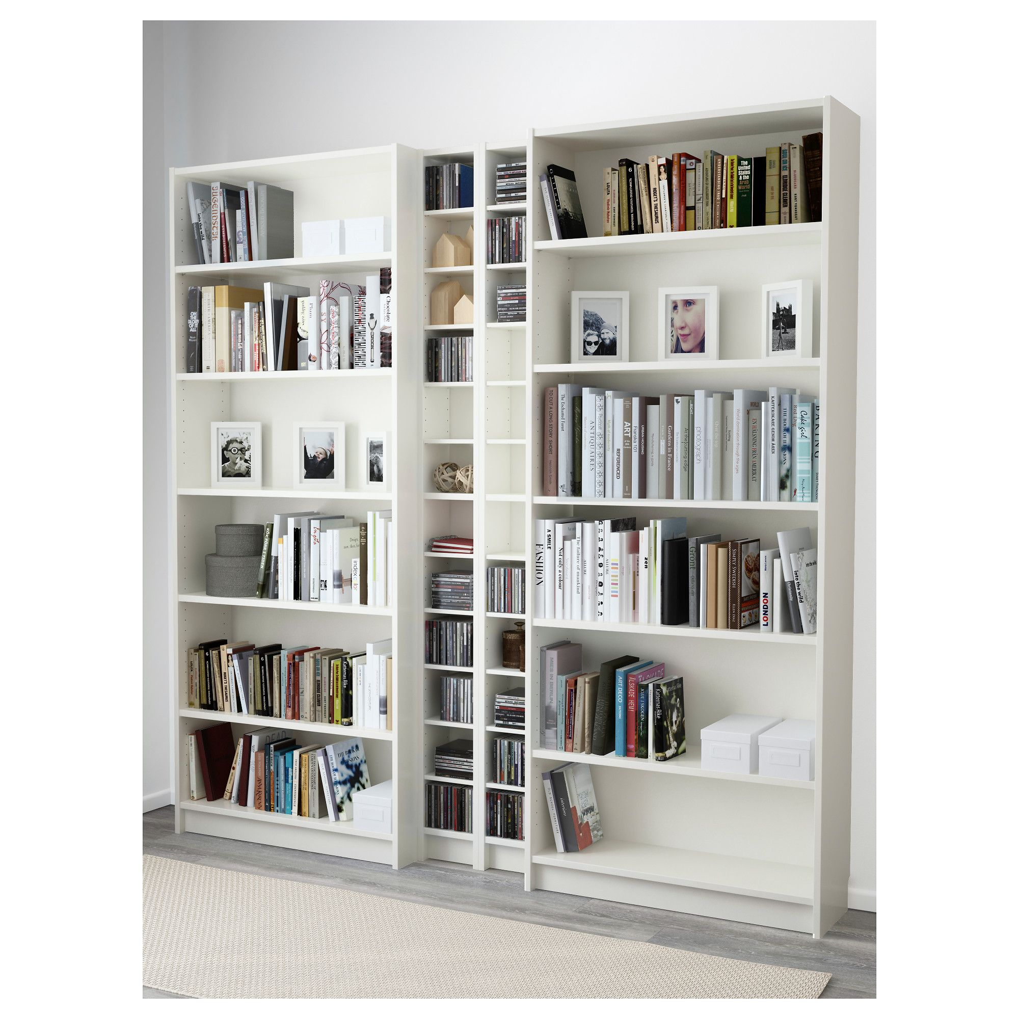 Billy gnedby bookcase white in 2019 crafty space for Billy libreria ikea