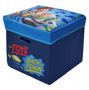 Toy Story Storage Ottoman Toy Story Room Toy Story Nursery Toy Story Bedroom