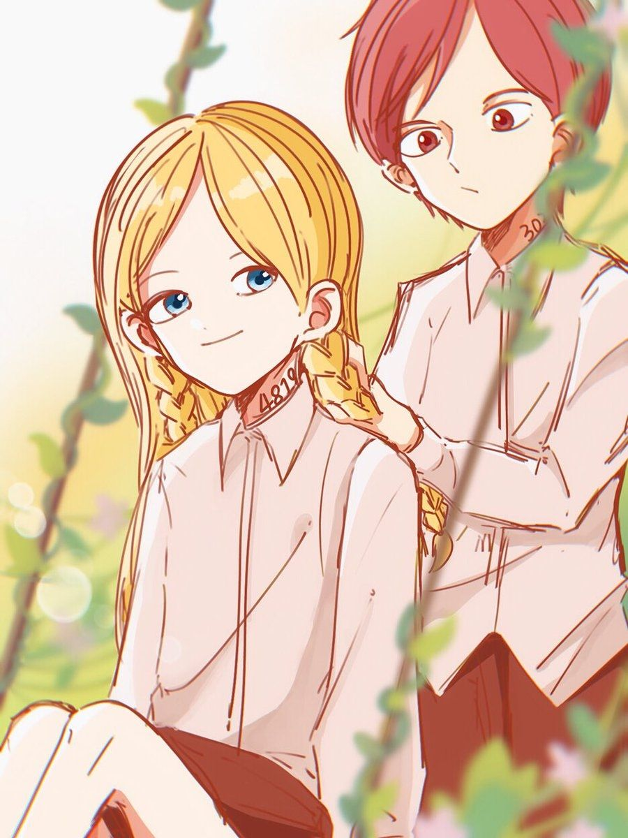 Pin by cherry san on The Promised Neverland / Обещанный