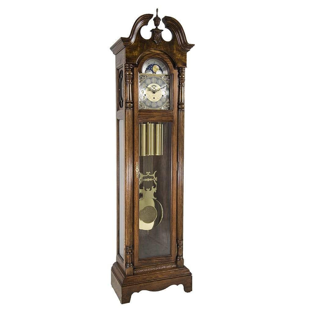 Hermle Chester Grandfather Clock 010874041161 Dark Oak Grandfather Clock Clock Modern Grandfather Clock