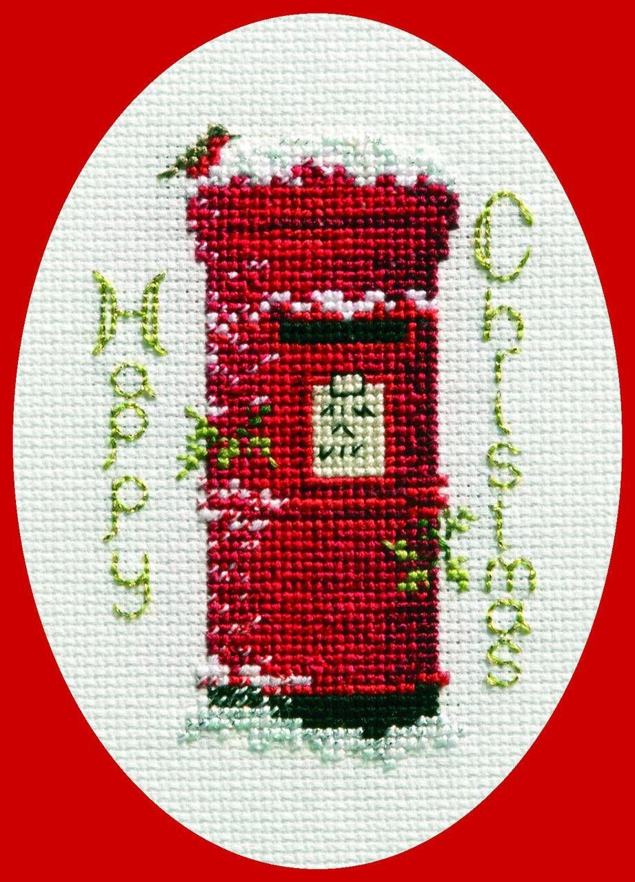 Christmas Post Christmas Card Cross Stitch Kit Cross
