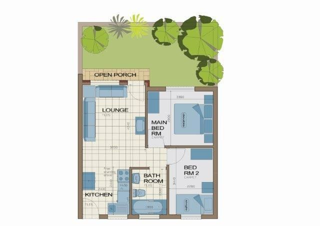 Affordable Housing Development In Dawn Park Cluster House House Floor Plans Floor Plans