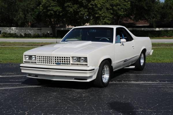 1980 Pro Street El Camino Chevrolet El Camino Chevy El Camino