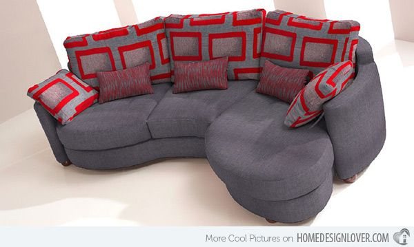 15 Curved Modular And Sectional Sofa Designs Small Curved